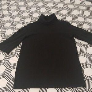 Zara Black Turtleneck Mini Dress/Tunic